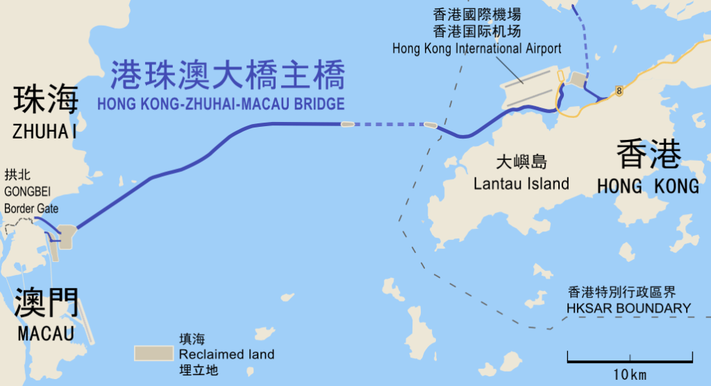 Most Zhuhai-HK-Makau