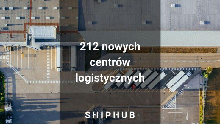 Chiny planują zbudować sieć 212 nowych centrów logistycznych