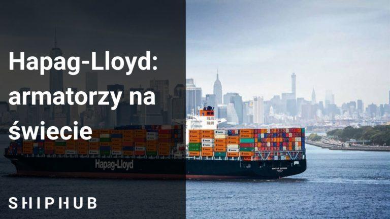 Hapag-Lloyd armatorzy na świecie
