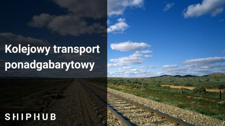 Kolejowy transport ponadgabarytowy