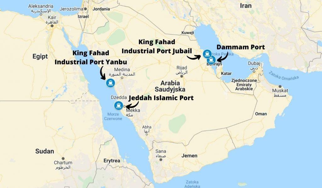 Porty morskie w Arabii Saudyjskiej