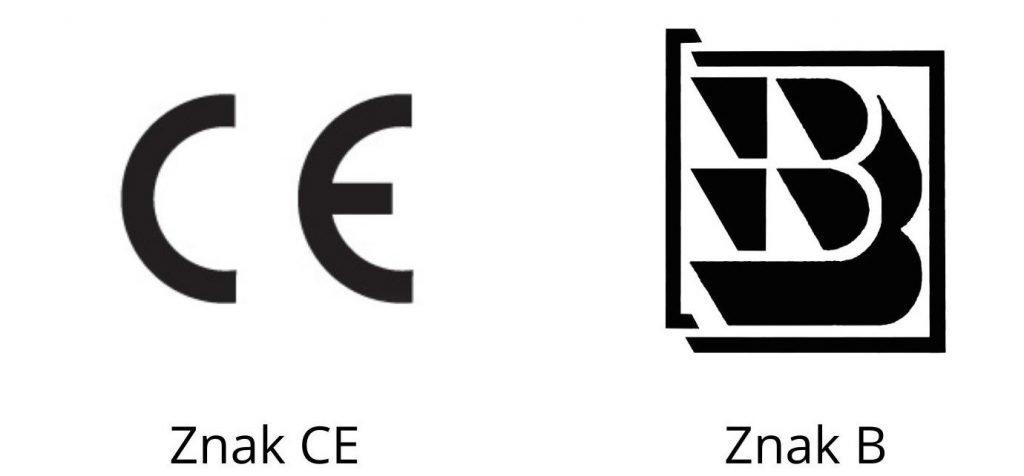 Panele fotowoltaiczne znak CE a B