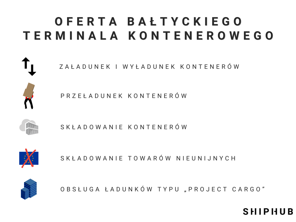 Oferta Bałtyckiego Terminala Kontenerowego BCT