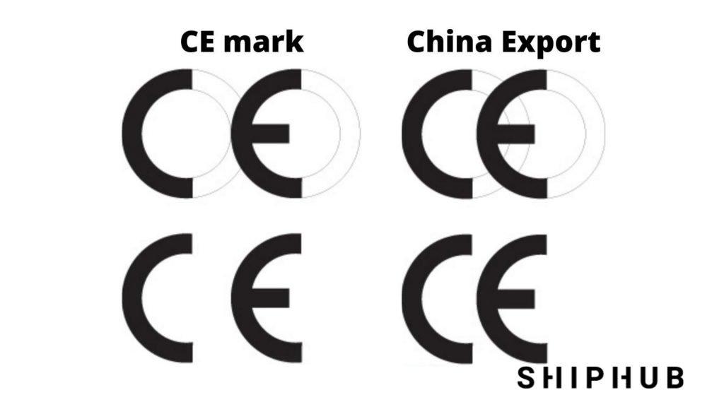 Oznakowanie CE a China Export