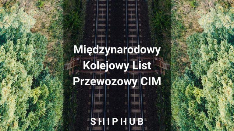 Międzynarodowy Kolejowy List Przewozowy CIM