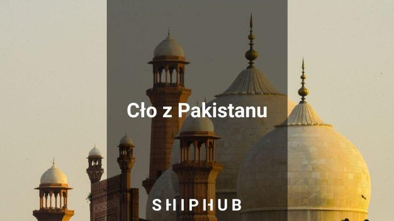 Cło z Pakistanu