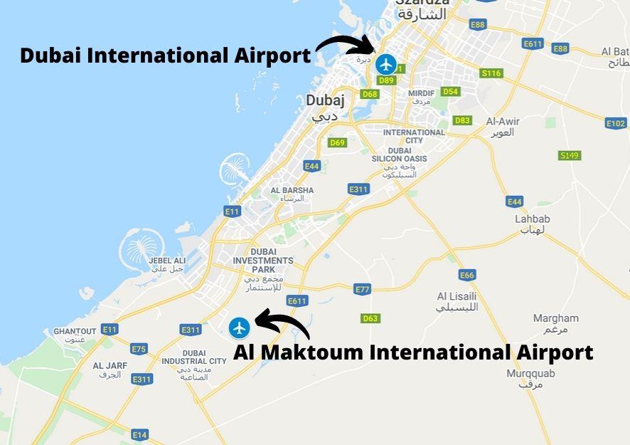 Lotniska w Dubaju