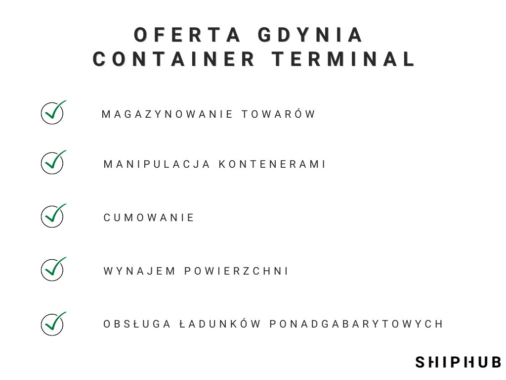 Oferta Gdynia Container Terminal