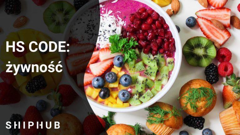 hs code - żywność