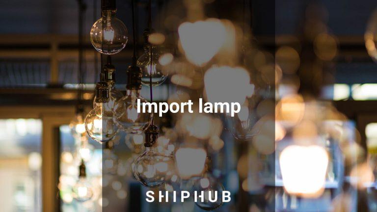 Import lamp