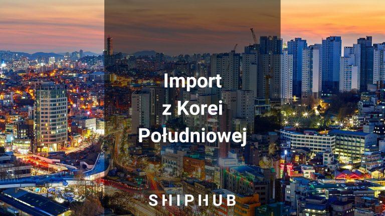 Import z Korei Południowej