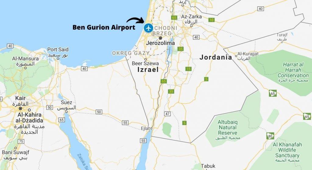 Transport lotniczy do Izraela