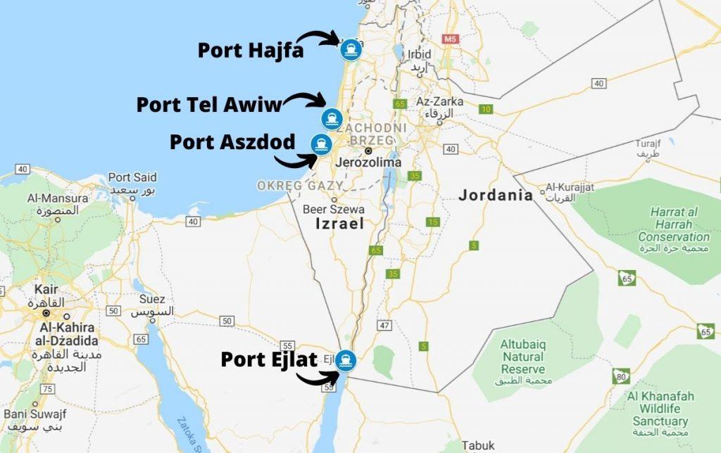 Porty morskie w izraelu