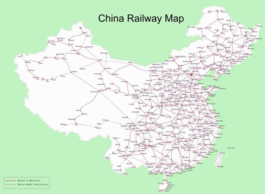 Kolej w Chinach