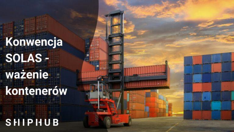 Konwencja SOLAS - Ważenie kontenerów