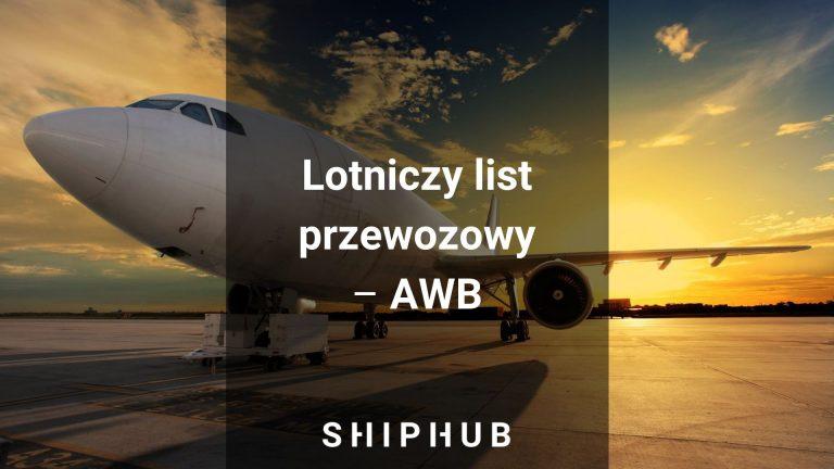 Lotniczy list przewozowy AWB