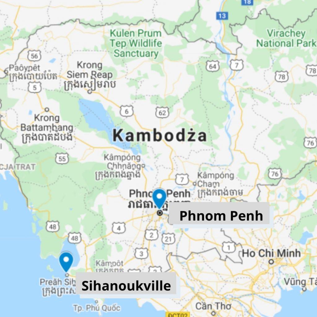Porty w Kambodży