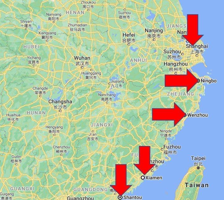 Porty w Chinach