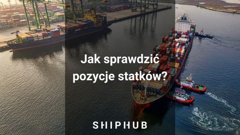Pozycje statków