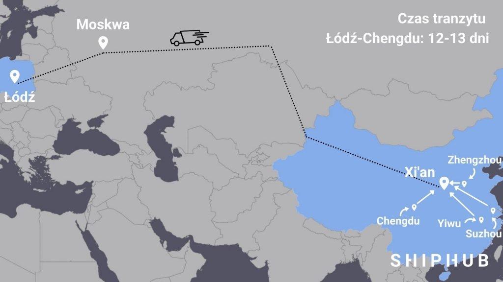 Transport drogowy z Chin do Polski