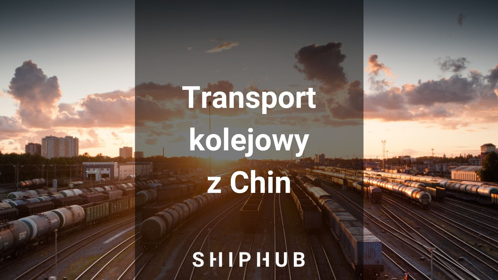 transport kolejowy z Chin