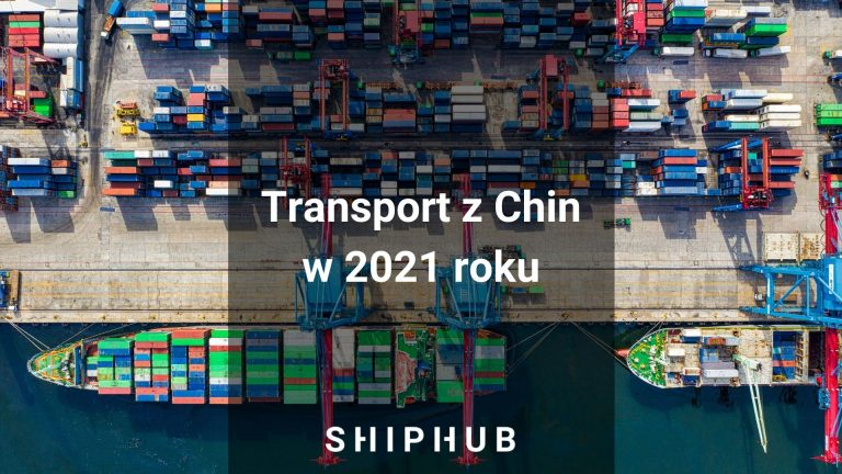 Transport z Chin 2021