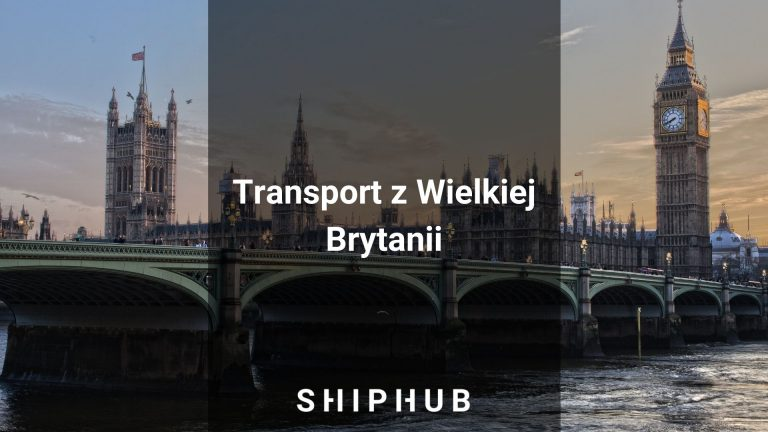 Transport z Wielkiej Brytanii